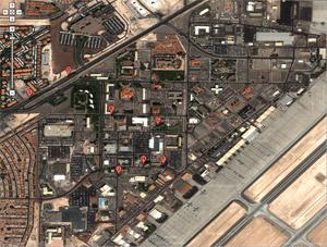La base militare di Nellis, Las Vegas