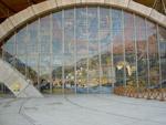 La nuova chiesa di San Pio - particolare della facciata