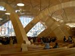 La nuova chiesa di San Pio - interno