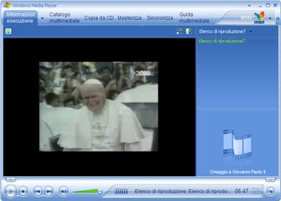 I funerali del Papa via web