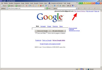 Google My Search History 01