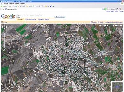 Foggia su Google Maps