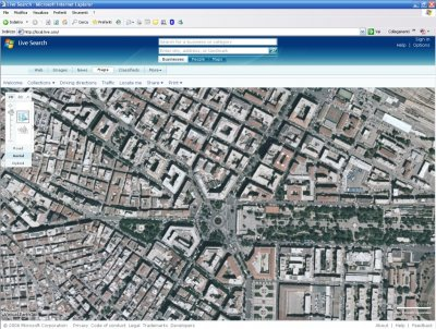 Foggia su Microsoft Virtual Earth