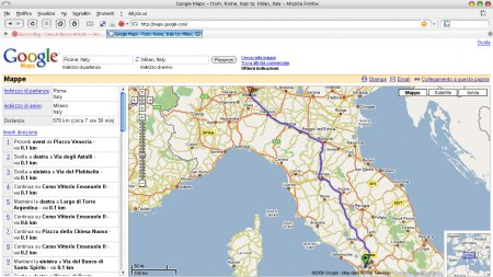 Google Maps Directions Europa 01
