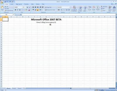 Microsoft Excel 2007 Beta 1 01