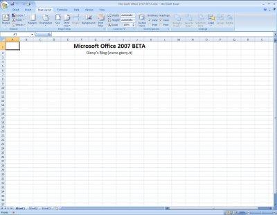 Microsoft Excel 2007 Beta 1 03