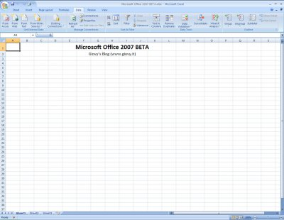 Microsoft Excel 2007 Beta 1 05