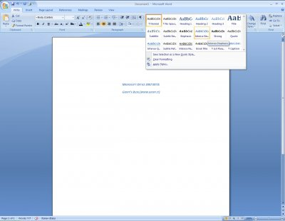 Microsoft Word 2007 Beta 1 02