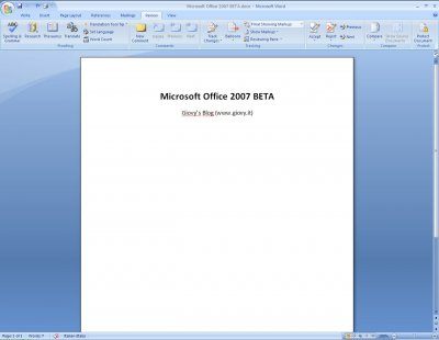 Microsoft Word 2007 Beta 1 08